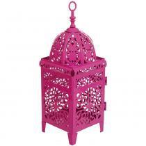 Lanterna Marroquina Rosa - Rosa - Mart Collection