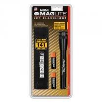 Lanterna Mini MagLite Preta Led Em Blister - MagLite