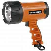 Lanterna Recarregável Led Farol Portátil BSL100 BlackDecker - Black  Decker