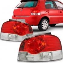 Lanterna Traseira Fiat Palio 2008 a 2009 Bicolor Lado Esquerdo - IMPORTADO