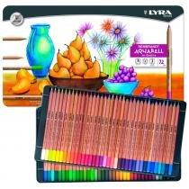 Lápis aquarelável rembradt lyra com 72 cores - 2011720 -
