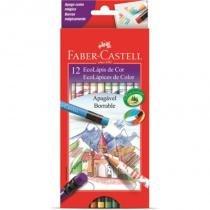 Lápis de Cor 12 Cores Apagável Faber-castell - Faber castell