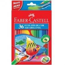Lápis de cor 36 cores - aquarelável - 12.0236G - Faber-Castell -