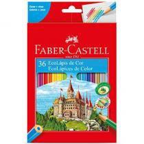 Lápis De Cor 36 Cores Ecolápis - Faber Castell - Faber-castell