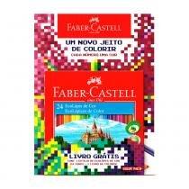 Lápis De Cor Faber Ecolápis C/24 + Livro - Faber-castell