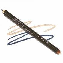 Lápis Delineador e Iluminador para os Olhos 2 em 1 Avon 0,96g - Ideal Face