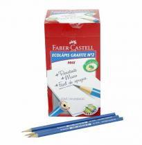 Lápis Preto Ecolápis -Faber Castell CX C/144unidades - Faber-Castell