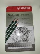Lapis Preto Profissional STABILO Estojo c/12 Graduações -