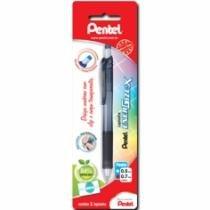 Lapiseira 0,7mm Energize-X Preto Sm/Pl107-A Pentel Blister - 953002