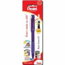 Lapiseira 0,7mm Twist-Erase Violeta Sm/Qe207-V Pentel Blister - 953002