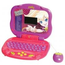Laptop da Polly - Trilíngue 84 atividades - Candide - Polly Pocket
