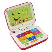 Laptop Rosa Fisher Price Aprender e Brincar - Mattel -