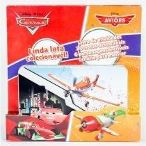 Latinha pop-up - carros e aviões disney - editora dcl -
