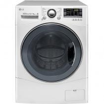 Lava e Seca 10,2Kg LG Direct Drive WD1412RTB Branca - Água Quente com 14 Programas de Lavagem 110V - LG