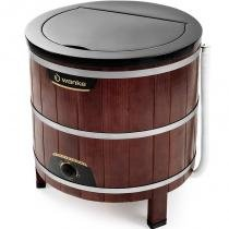Lavadora de Roupas 5kg Tradicional Wanke Caixa de Madeira com Timer 11150014 - Wanke