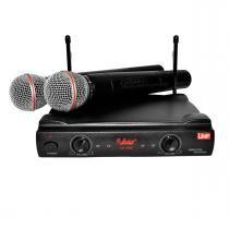 LC202 - Microfone s/ Fio Duplo de Mão LC 202 - Leacs - Leacs