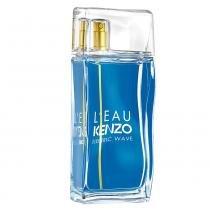 LEau Kenzo Electric Wave Pour Homme Kenzo - Perfume Masculino - Eau de Toilette - 50ml - Kenzo