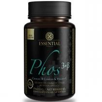 Lecitina de Soja PHOS 3+B - Essential Nutrition - 60 caps de 500mg - Essential Nutrition