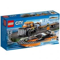 LEGO City 4x4 com Barco a Motor 60085 - 301 Peças