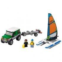LEGO City 4x4 com Catamarã - 198 Peças 60149