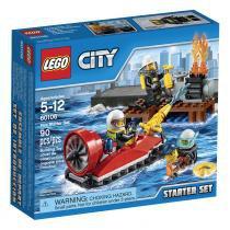 Lego City 60106 Iniciação Para Combate ao Fogo - LEGO - Lego