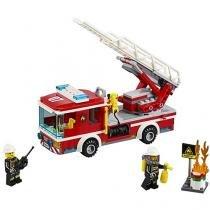 LEGO City Caminhão com Escada de Combate ao Fogo - 214 Peças - LEGO