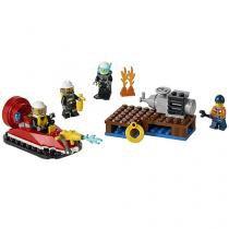 LEGO City Conjunto Iniciação para Combate ao Fogo - 90 Peças - 4111160106