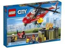 LEGO City Corpo de Intervenção dos Bombeiros - 257 Peças - LEGO