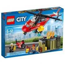 Lego City - Corpo de Intervenção dos Bombeiros - 60108 - Lego