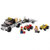 LEGO City Equipe de Corrida de Veículo Off-Road - 239 Peças 60148