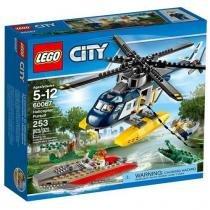 LEGO City Perseguição Helicoptero - 253 Peças - 60067