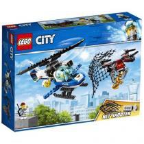 LEGO City Polícia Aérea Perseguição de Drone - 192 Peças