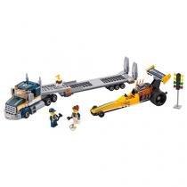 LEGO City Transportador de Dragster - 333 Peças 60151
