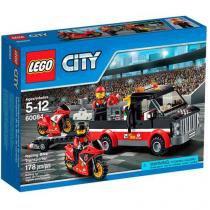 LEGO City Transportador de Motocicletas - de Corrida 60084 178 Peças