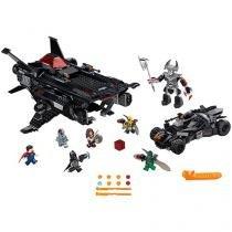 LEGO DC Comics Super Heroes Justice League Flying - Fox Batmobile Airlift Attack 955 Peças 76087