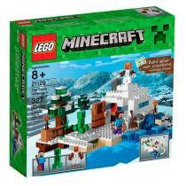 Lego Minecraft 21120 O Esconderijo da Neve - LEGO - Lego