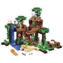 LEGO Minecraft A Casa da Árvore da Selva - 4111121125 706 Peças