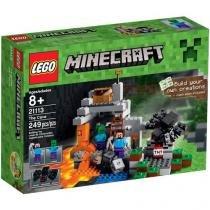 LEGO Minecraft Creative Adventure A Caverna - 21113 249 Peças