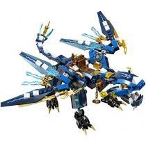 LEGO Ninjago Dragão Elemental do Jay - 350 Peças