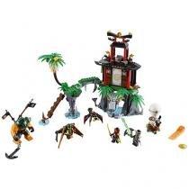 LEGO Ninjago Ilha da Viúva Tigre - 450 Peças LEGO