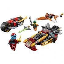 LEGO Ninjago Perseguição de Motocicleta Ninja - 231 Peças