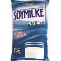 Leite de soja em pó soymilke natural sachê 300g -