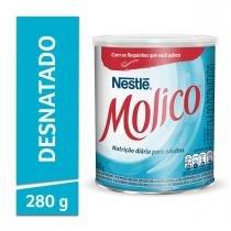 Leite em Pó Desnatado Molico Total Cálcio Lata 280g - NESTLÉ
