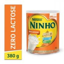Leite em Pó Ninho Forti+ Zero Lactose Lata 380g - Nestlé