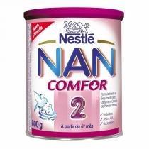 Leite Nan Comfor 2 800g Kit com 6 latas - Nestlé