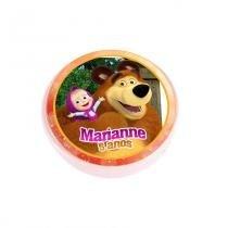 Lembrancinha Potinho Plástico Personalizada Masha e o Urso - Aluá festas 17a388eb0c4