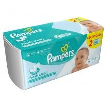 Lencinhos Umedecidos Pampers Fresh Clean 96 Unidades - PAMPERS
