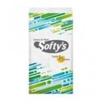 Lenço De Papel Softys Bolso Folha Dupla - SOFTYS