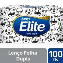 Lenço De Papel Softys com 100 - SOFTYS