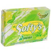 Lenço de papel softys mentol  50 unidades -